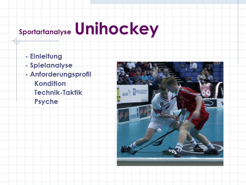 Sportartanalyse Unihockey