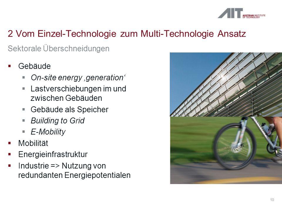 2 Vom Einzel-Technologie zum Multi-Technologie Ansatz