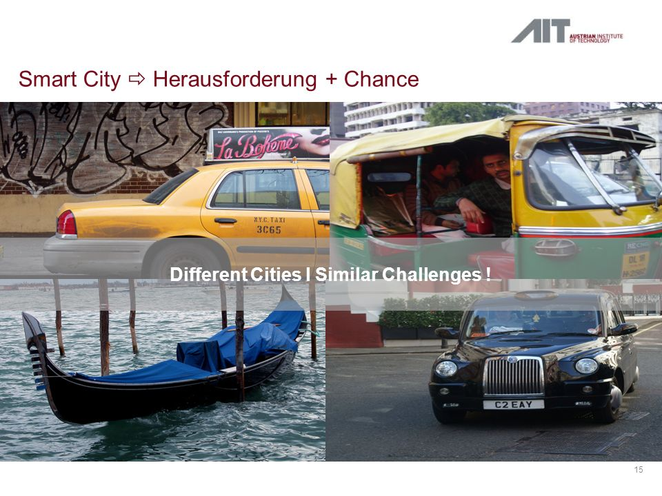 Smart City  Herausforderung + Chance