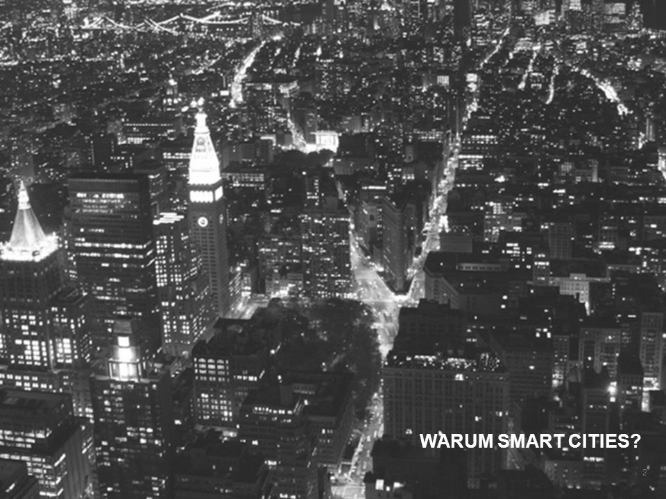 WARUM SMART CITIES