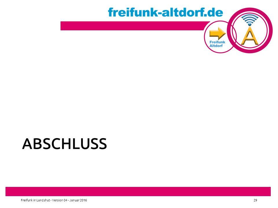 Abschluss Freifunk in Landshut - Version 04 - Januar 2016