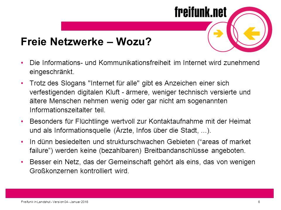Freie Netzwerke – Wozu Die Informations- und Kommunikationsfreiheit im Internet wird zunehmend eingeschränkt.