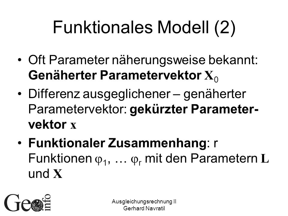 Funktionales Modell (2)
