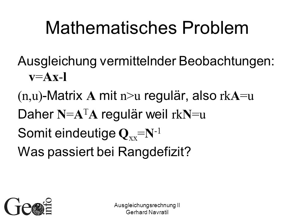 Mathematisches Problem