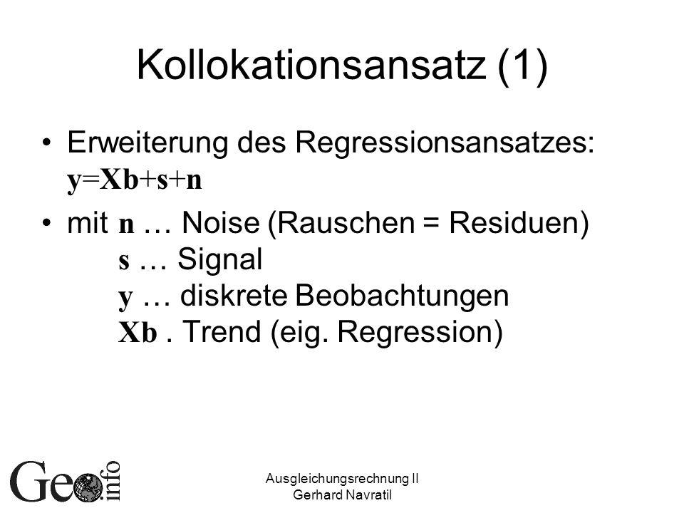 Kollokationsansatz (1)