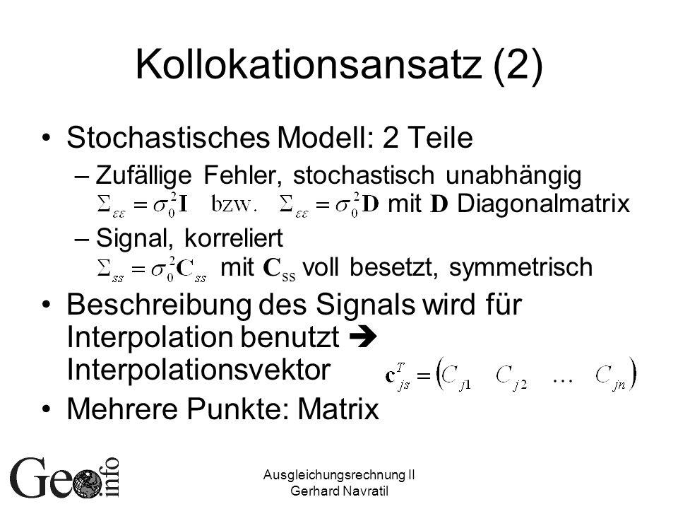Kollokationsansatz (2)