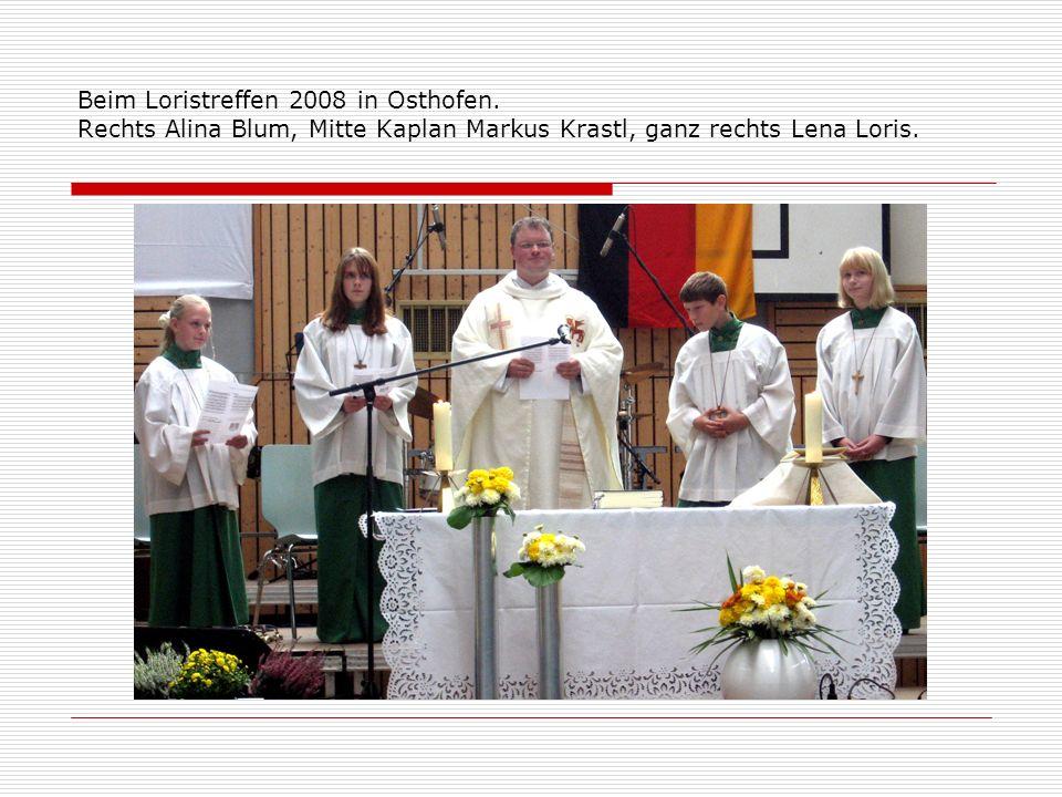 Beim Loristreffen 2008 in Osthofen