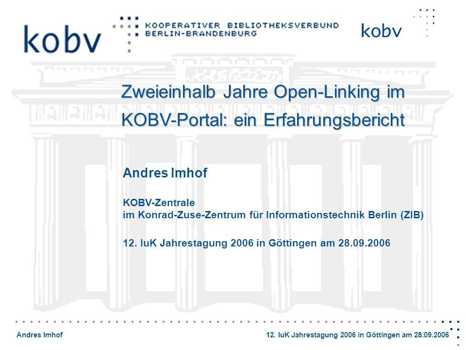 Zweieinhalb Jahre Open-Linking im KOBV-Portal: ein Erfahrungsbericht