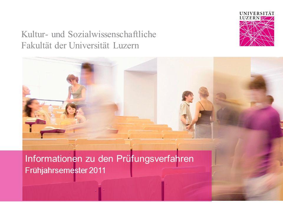Kultur- und Sozialwissenschaftliche Fakultät der Universität Luzern
