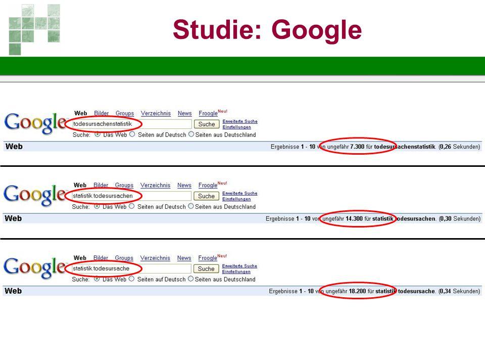 Studie: Google