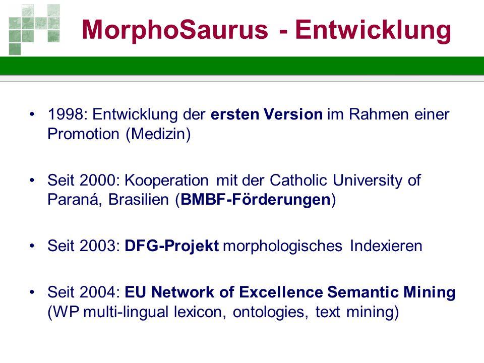 MorphoSaurus - Entwicklung
