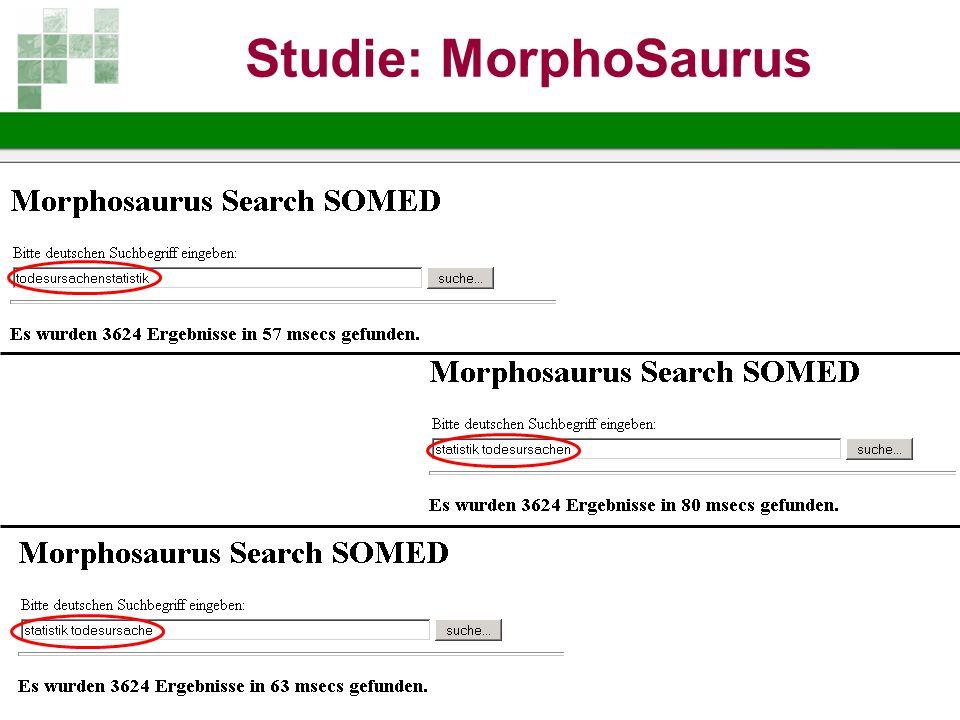 Studie: MorphoSaurus