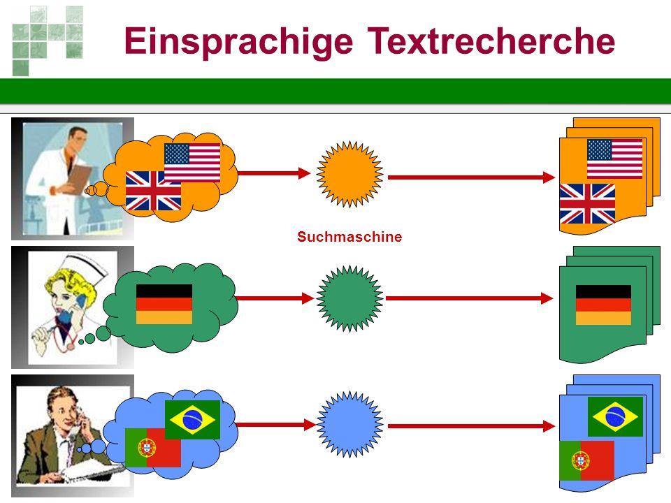 Einsprachige Textrecherche