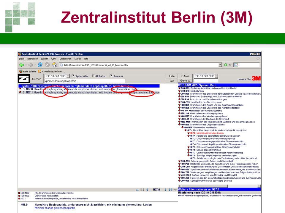 Zentralinstitut Berlin (3M)