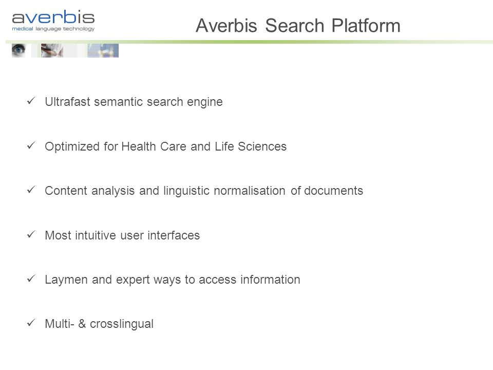Averbis Search Platform