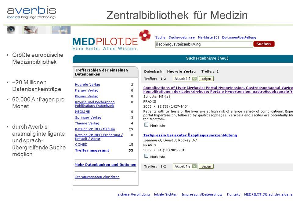 Zentralbibliothek für Medizin