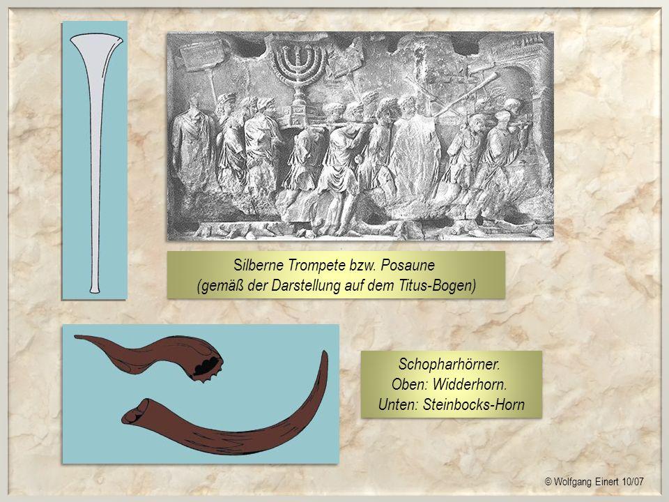 Silberne Trompete bzw. Posaune