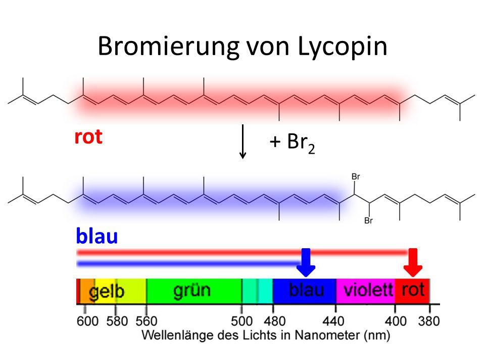 Bromierung von Lycopin