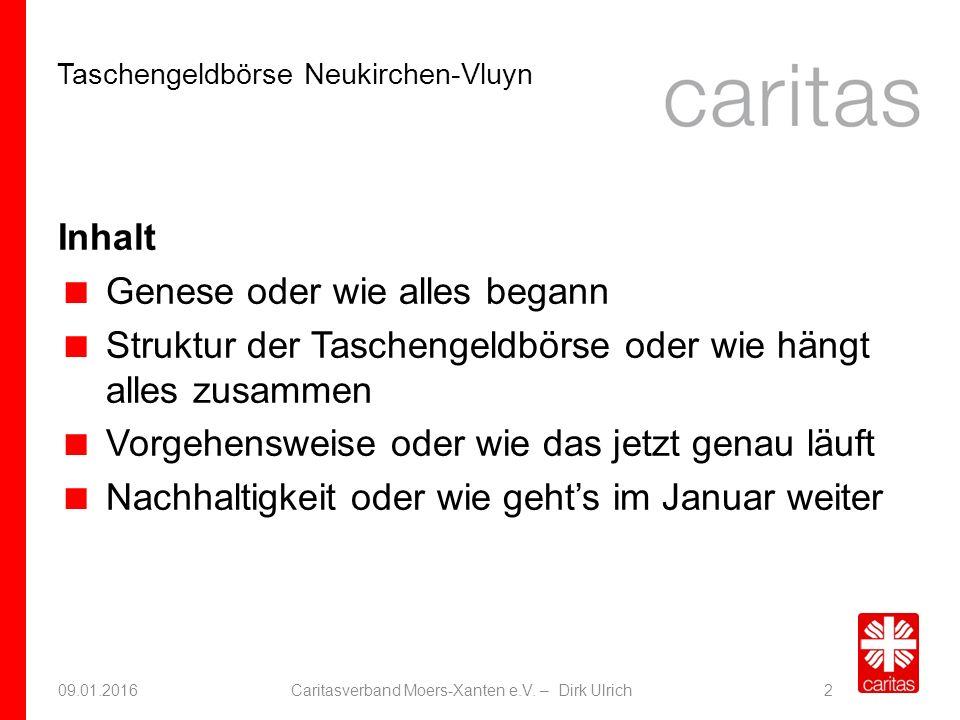 Taschengeldbörse Neukirchen-Vluyn