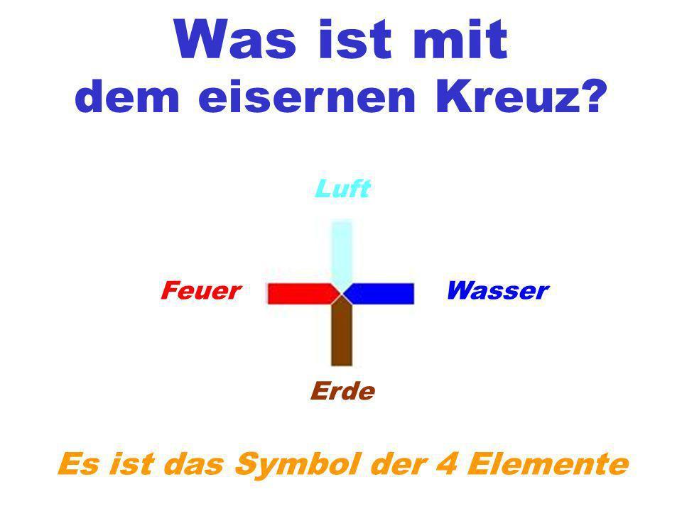 Es ist das Symbol der 4 Elemente