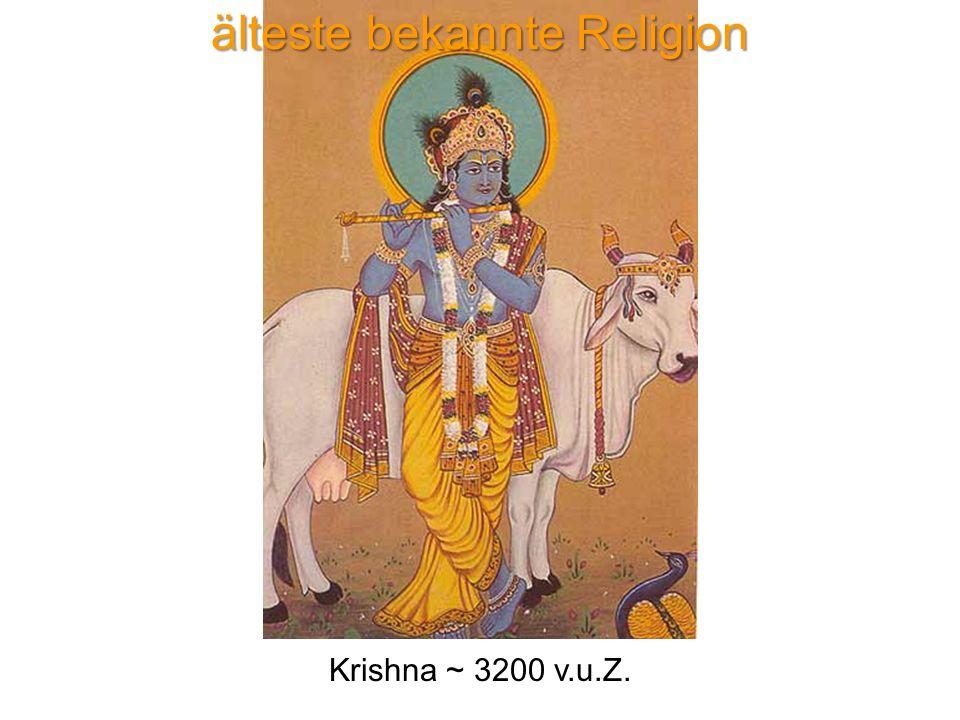 älteste bekannte Religion