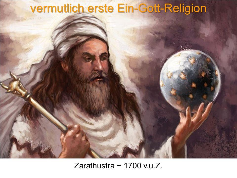 vermutlich erste Ein-Gott-Religion