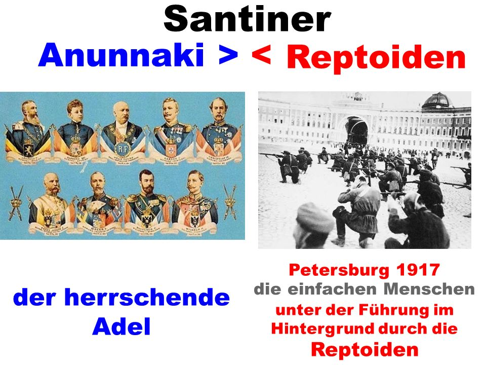 Santiner Anunnaki > < Reptoiden der herrschende Adel