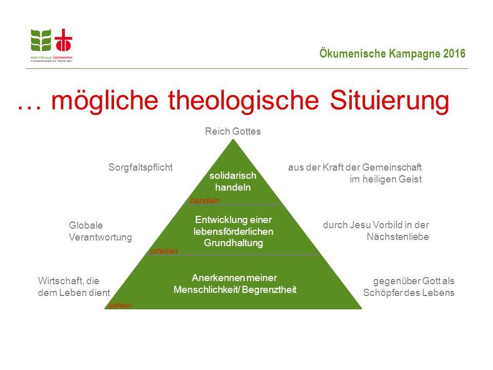 … mögliche theologische Situierung