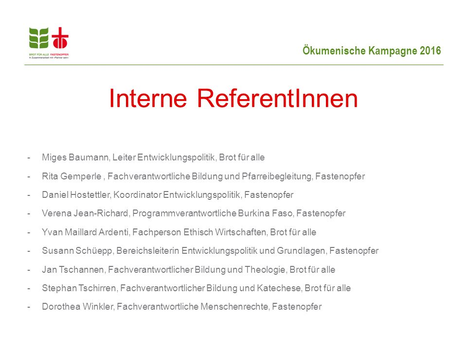 Interne ReferentInnen