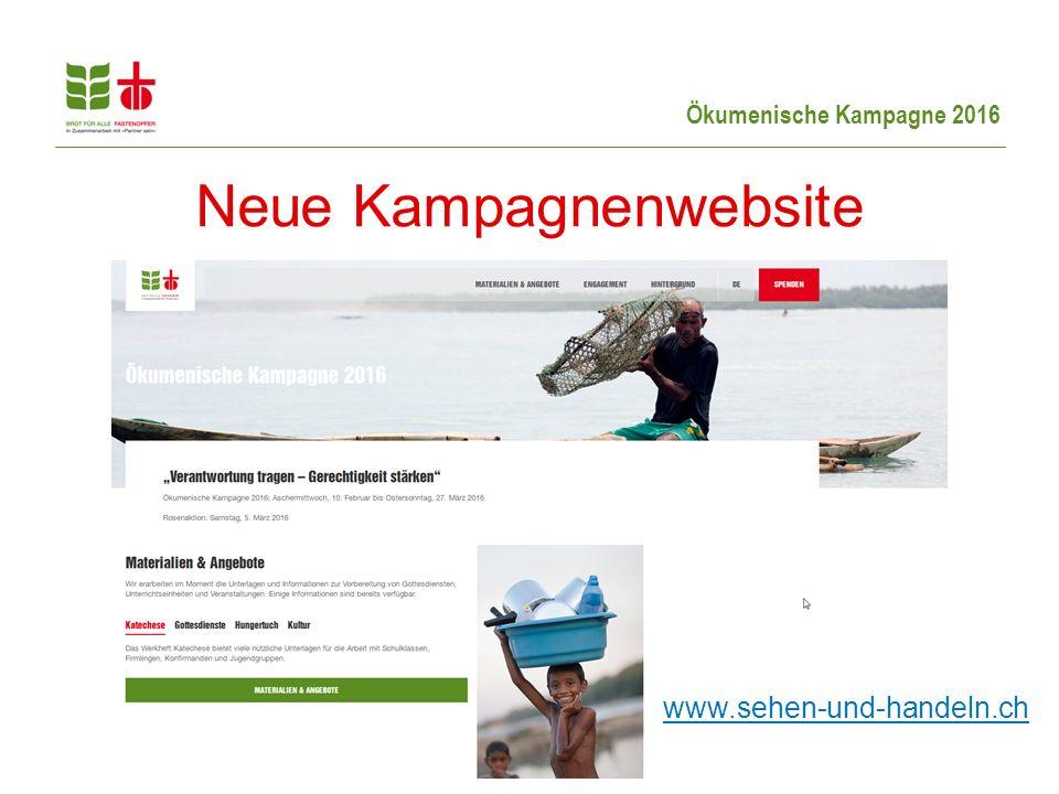 Neue Kampagnenwebsite