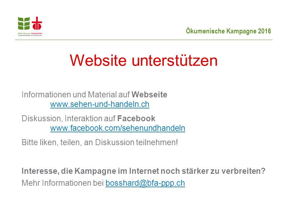 Website unterstützen
