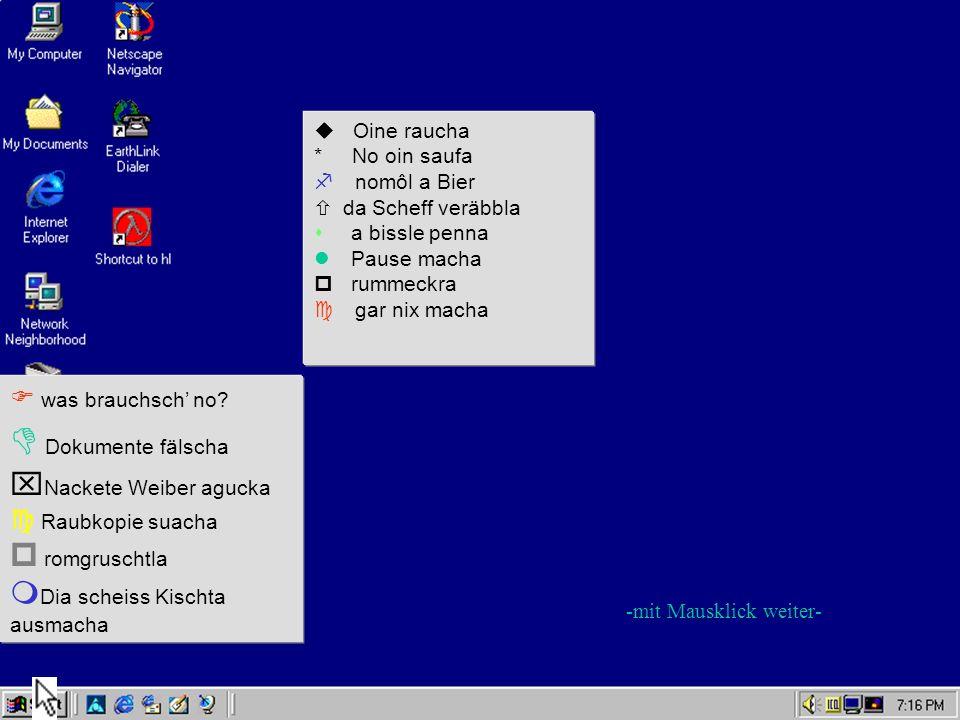 D Dokumente fälscha xNackete Weiber agucka p romgruschtla