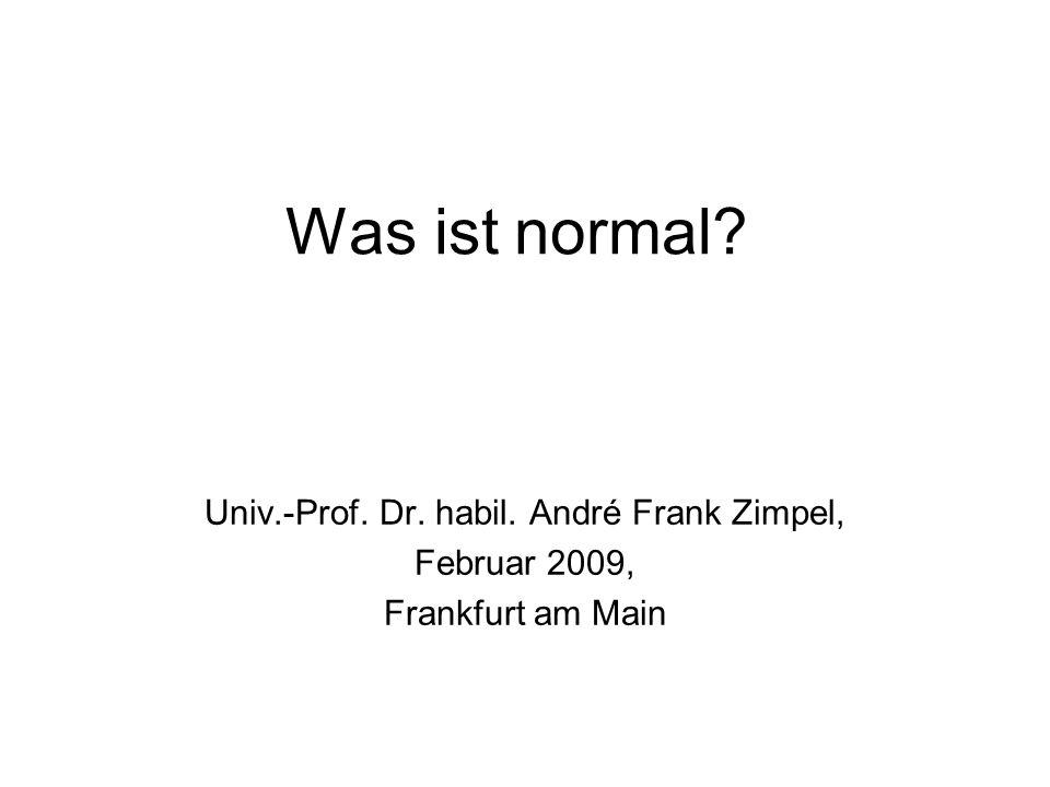 Univ.-Prof. Dr. habil. André Frank Zimpel,