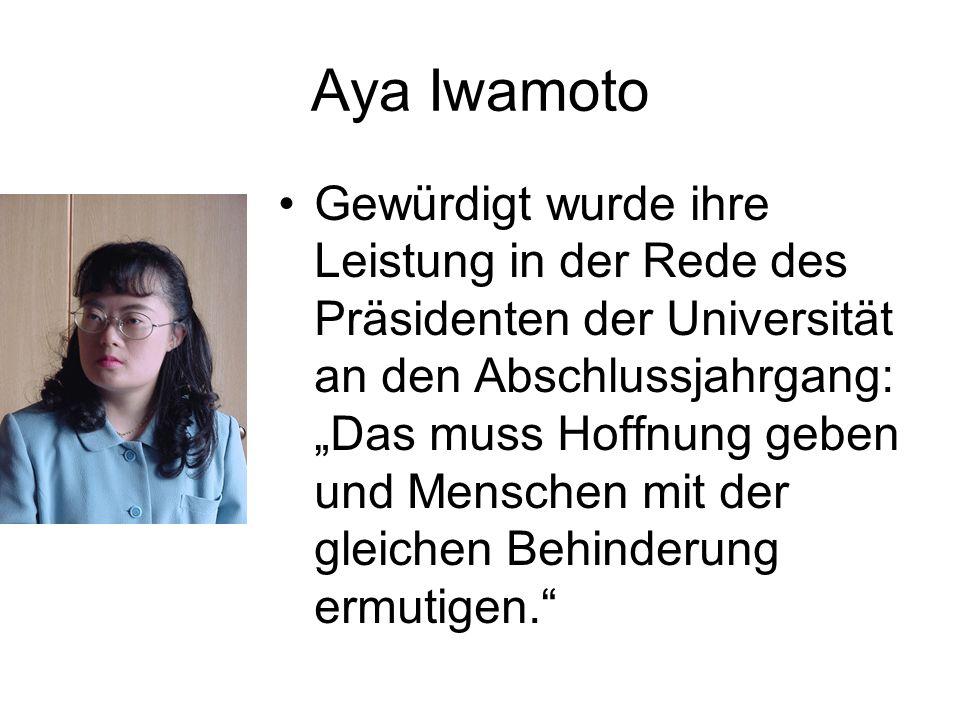 Aya Iwamoto