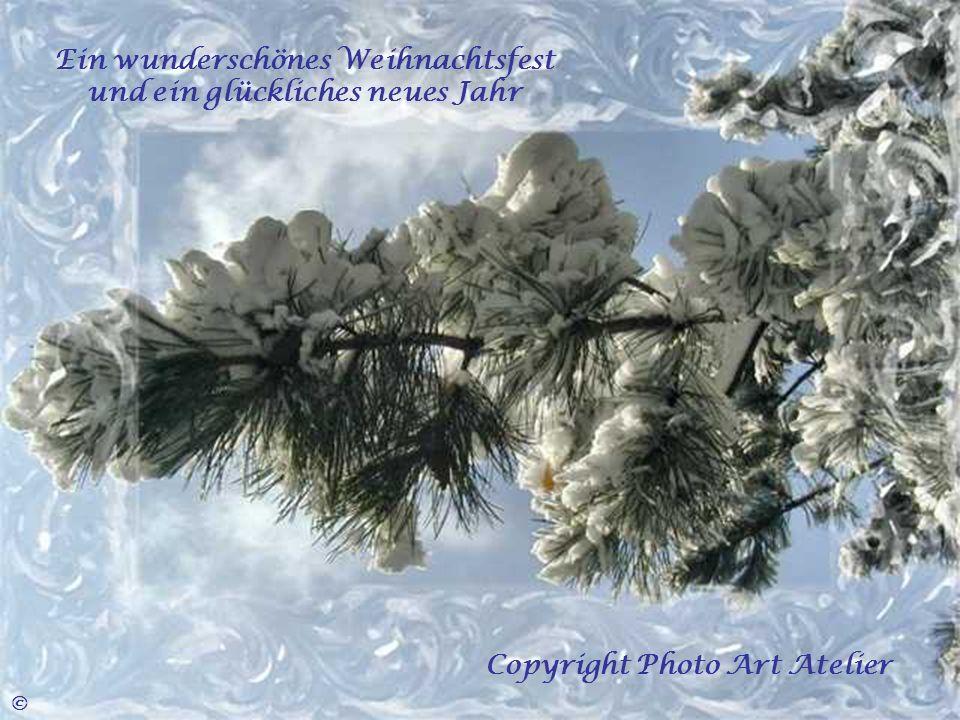 Ein wunderschönes Weihnachtsfest und ein glückliches neues Jahr