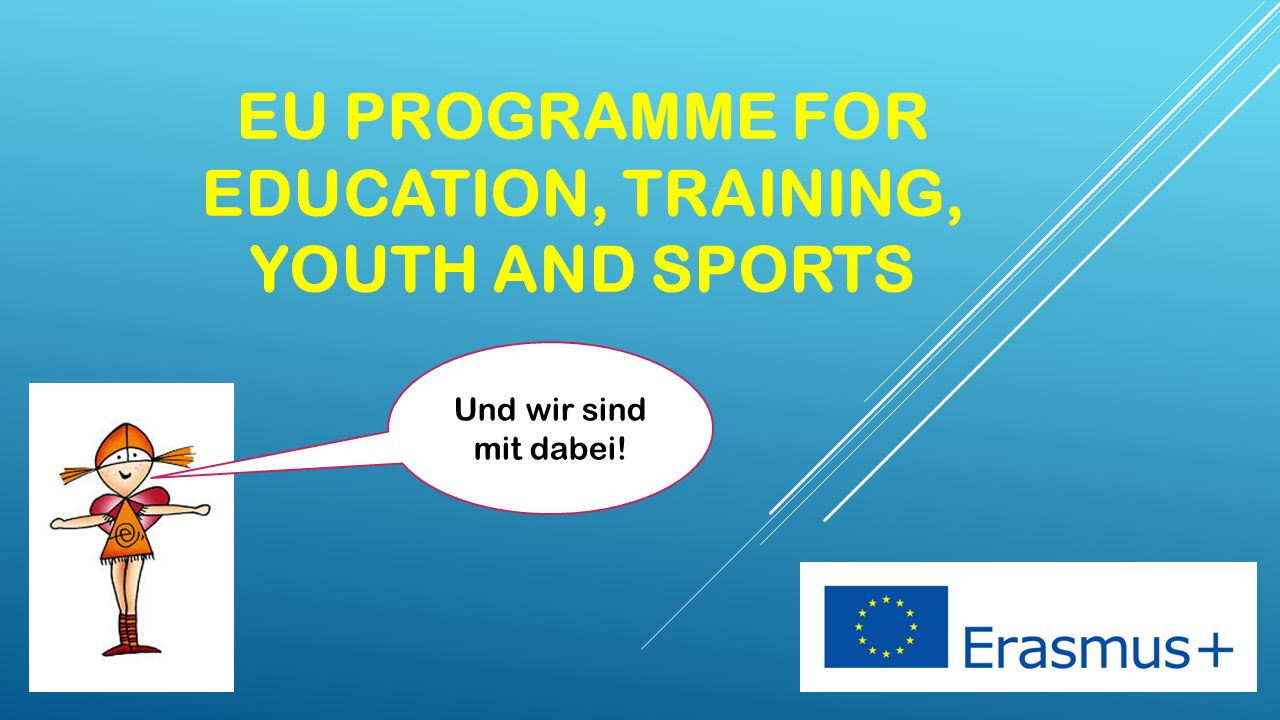 EU Programme for education, Training, youth and sports