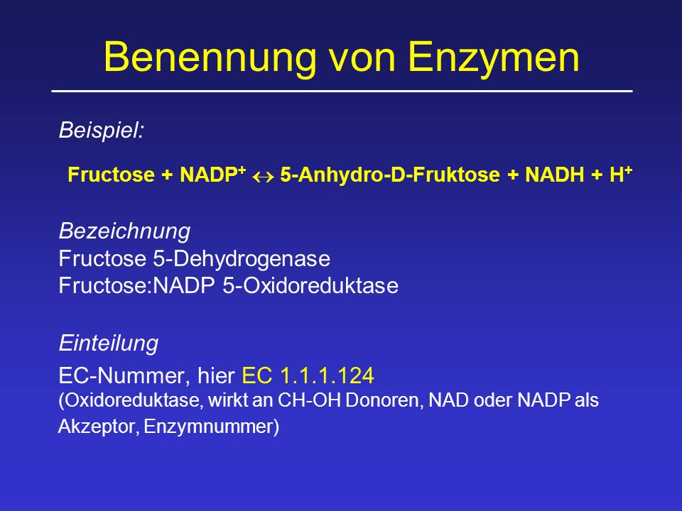 Fructose + NADP+  5-Anhydro-D-Fruktose + NADH + H+