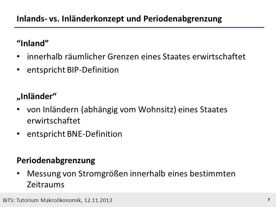 Inlands- vs. Inländerkonzept und Periodenabgrenzung