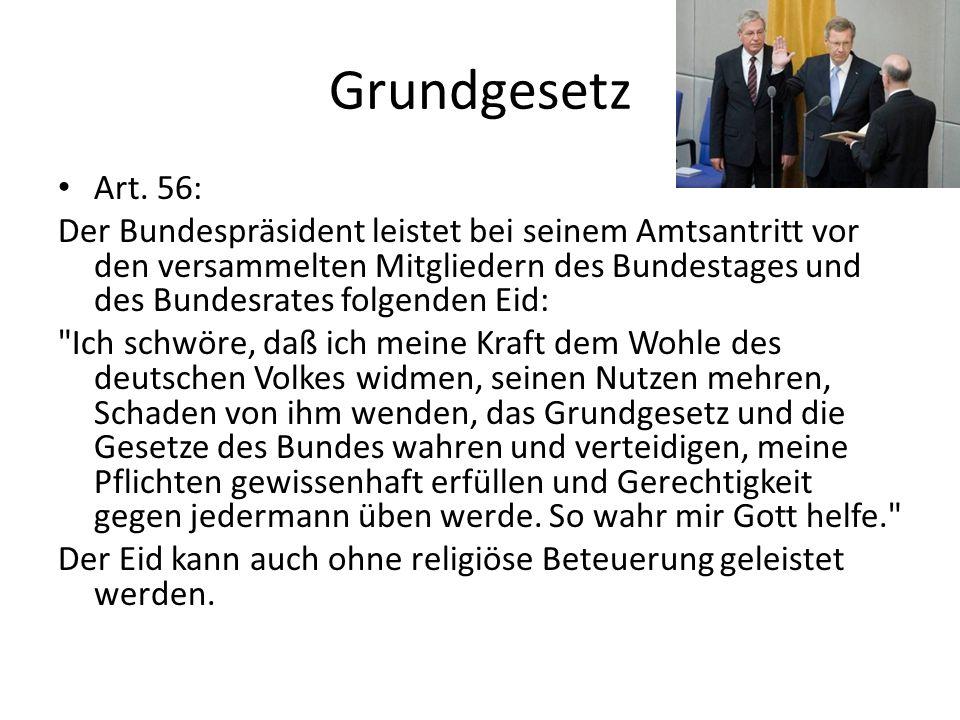 Grundgesetz Art. 56: