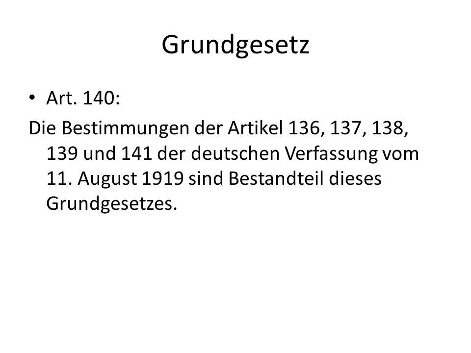 Grundgesetz Art. 140: