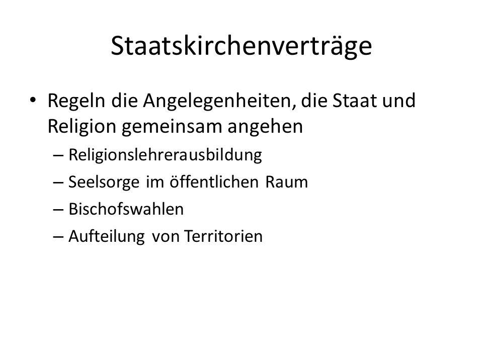 Staatskirchenverträge