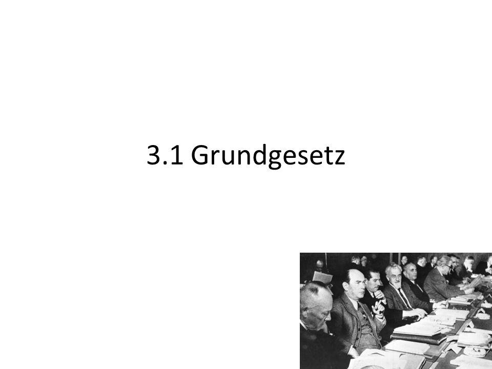 3.1 Grundgesetz