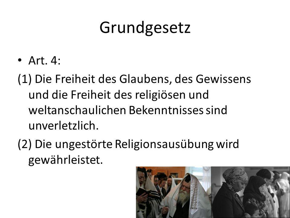 Grundgesetz Art. 4:
