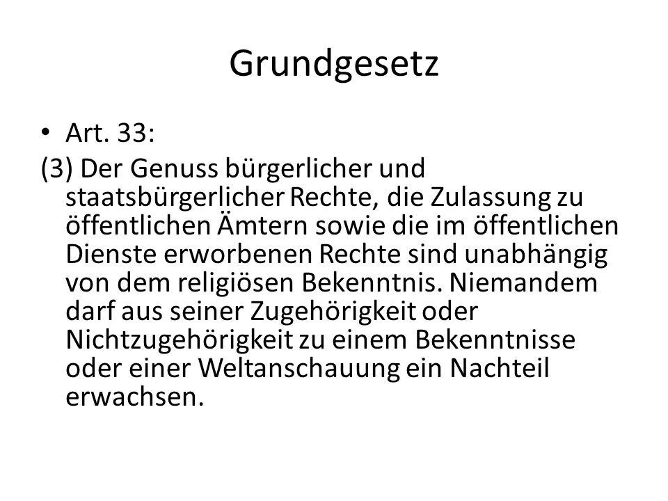 Grundgesetz Art. 33: