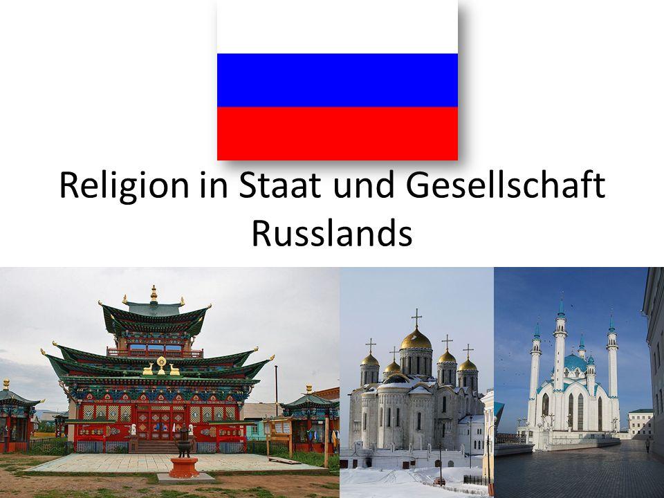 Religion in Staat und Gesellschaft Russlands