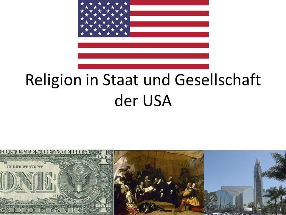 Religion in Staat und Gesellschaft der USA