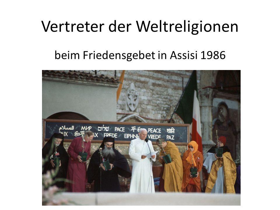 Vertreter der Weltreligionen