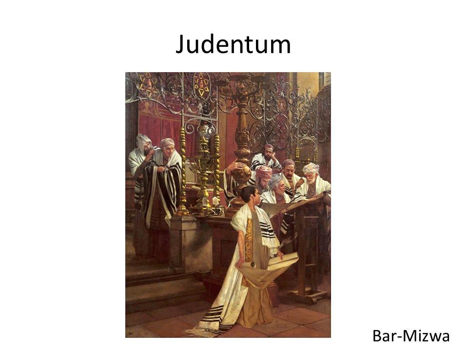Judentum Bar-Mizwa