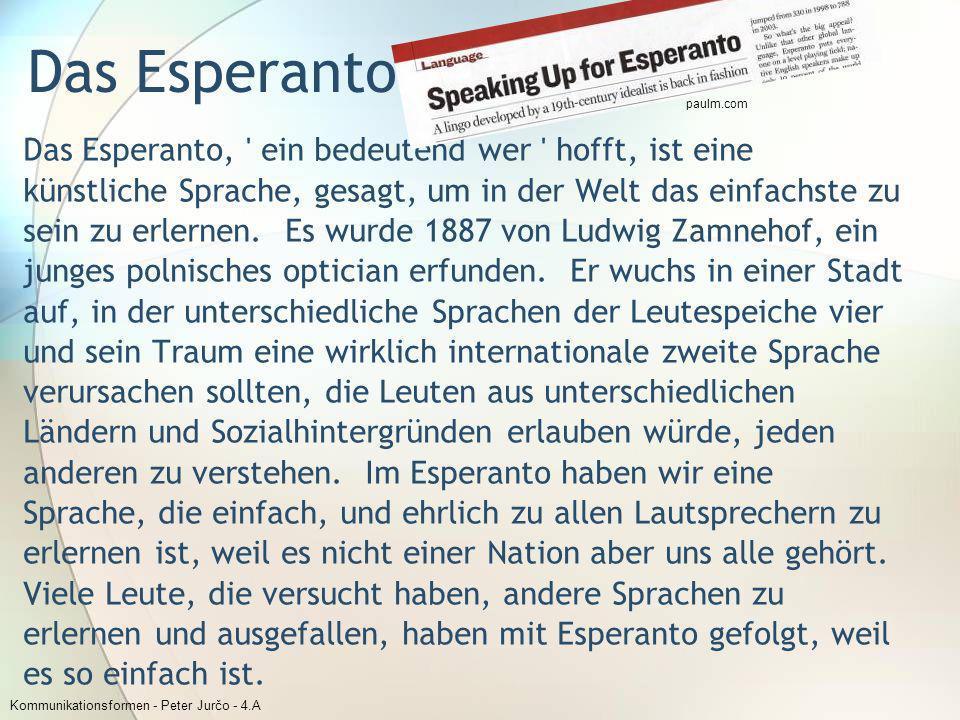 paulm.com Das Esperanto.