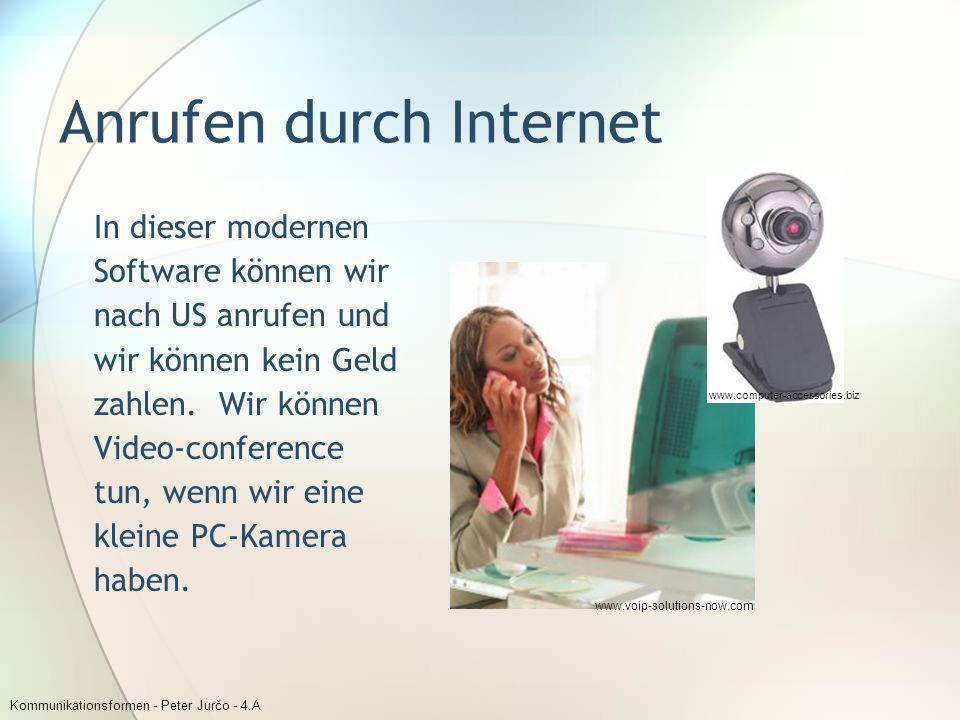 Anrufen durch Internet